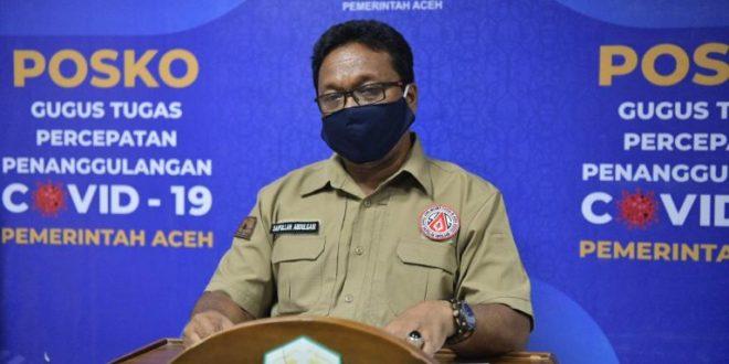 Update Covid-19 Aceh, 79 Kasus Positif Corona dan ODP 32 Orang