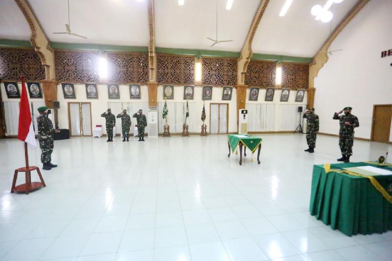 Letkol Inf Abdul Razak Rangkuti Jabat Dandim 0101/BS