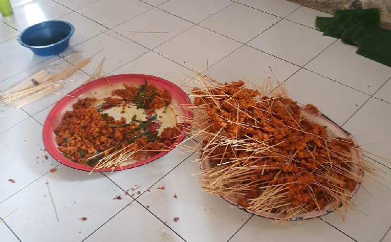 Polisi Temukan Penjual Sate Diduga Gunakan Daging Busuk di Aceh Besar