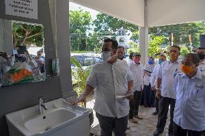 Tim Sekda Aceh Pantau Penerapan Protokol Kesehatan di Kantor SKPA