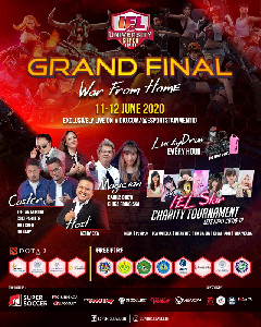 Grand Final IEL University Super Series 2020 Tetap Dilaksanakan Secara Online