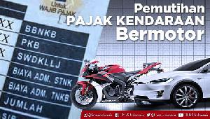 Pemutihan Kendaraan Bermotor di Aceh Diperpanjang Hingga 15 Oktober 2020