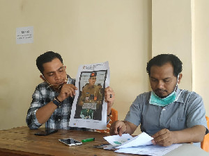 "Pelapor Minta Pemilik Akun Penyebar Fitnah ""Plt Gubernur Aceh Antek PKI"" Minta Maaf"