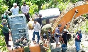 Escavator Tak Bertuan Ditemukan di Kawasan Hutan Produksi Mangrove Aceh Tamiang