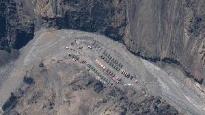 China Bangun Pangkalan Militer di Lembah Galwan