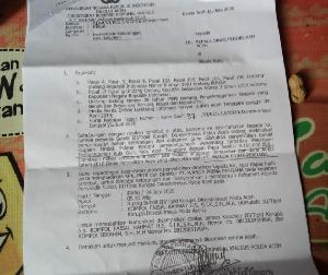 Penyidik Dit Krimsus Polda Aceh Panggil Kepala Dinas Pendidikan