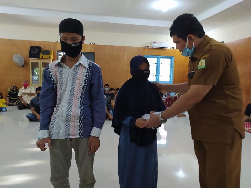 Dinas Sosial Aceh Bayar Uang Saku Tunanetra