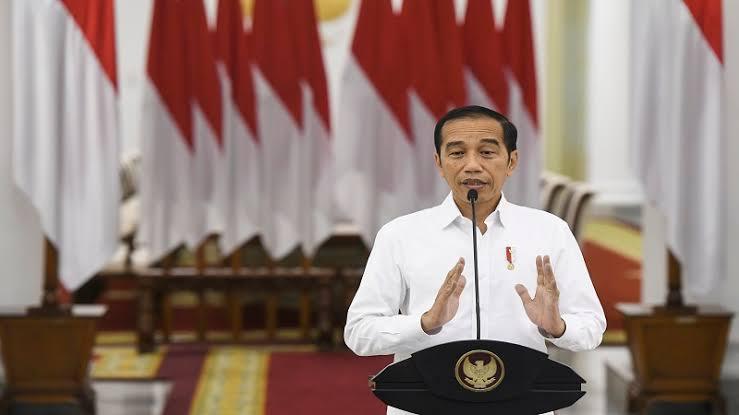 Jokowi Laksanakan Upacara Hari Lahir Pancasila Secara Daring