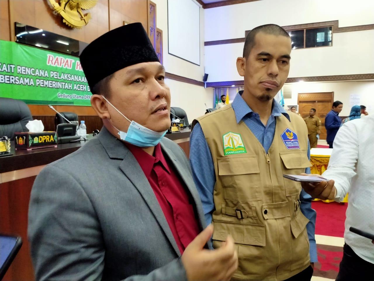 DPRA Akan Sampaikan ke Mendagri Pilkada Aceh Digelar Tahun 2022