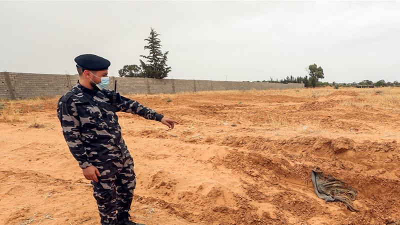 Di Libya, PBB Temukan Kuburan Massal