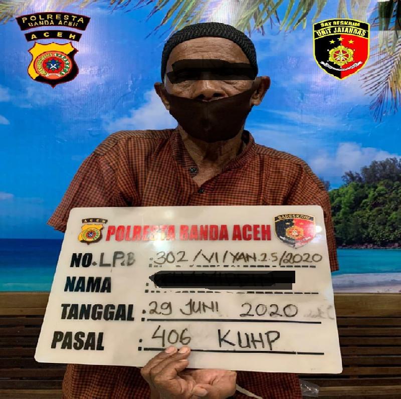 Ini Motif Pelaku Rusak Mobil Kepala Dinas Bappeda Aceh