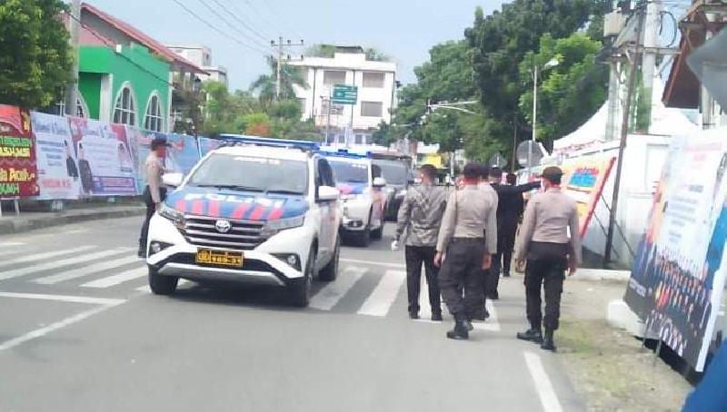 Ratusan Personel TNI-Polri  Amankan Pelantikan Bupati Bireuen