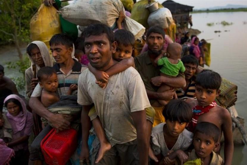 Pengungsi Rohingya Antara Kemanusian dan Beban Negara