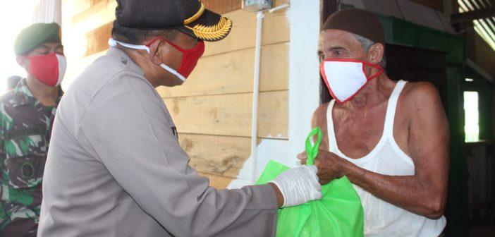Polresta Banda Aceh Salurkan 139 Paket Bantuan Untuk Warga