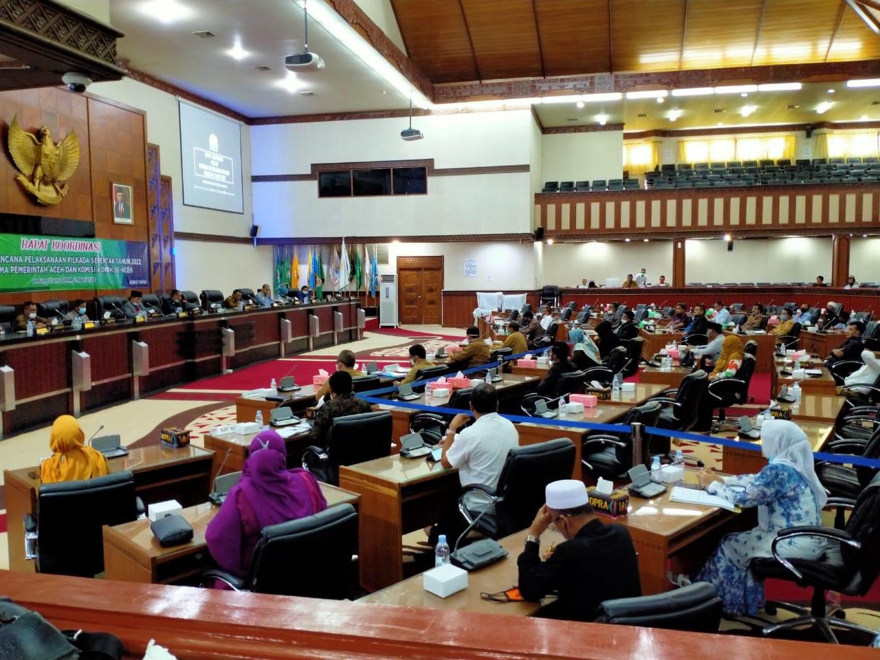 Hari Ini DPRA Akan Gelar Rapat Paripurna Terkait Penyerahan Laporan LHP-BPK