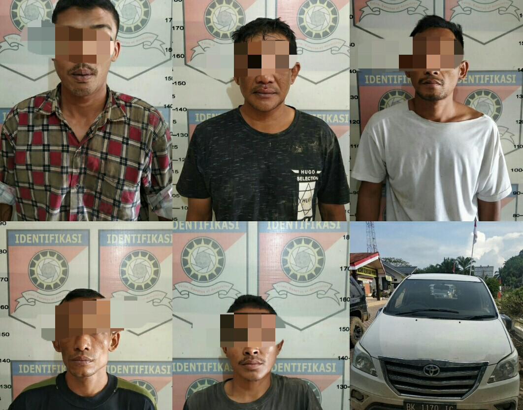 Komplotan Pencuri Ternak di Aceh Tamiang Diringkus Polisi