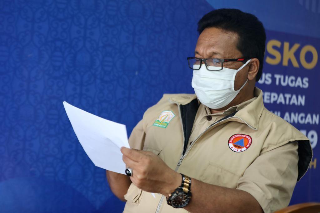 Aceh Tengah Menjadi Tempat  Munculnya 45 Kasus Baru Covid-19 di Aceh