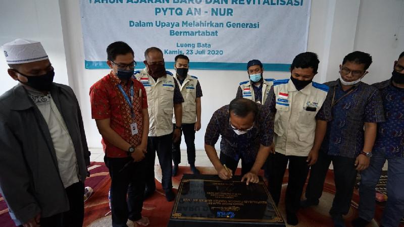 Revitalisasi PYTQ An-Nur, GM PLN Aceh: Jaga Aset untuk Menunjang Generasi Bermartabat