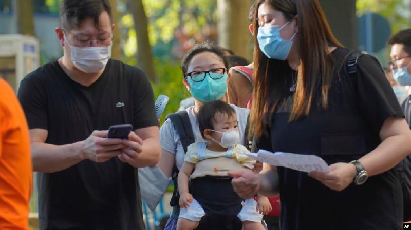 600 Ribu Lebih Warga Hong Kong Berikan Suara di Pemilihan Oposisi