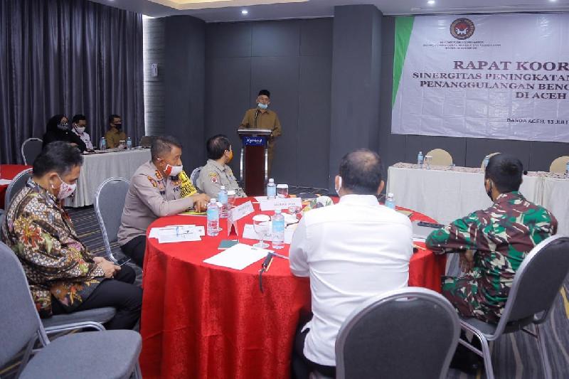Kemenko PMK Apresiasi Penanganan Karhutla di Aceh