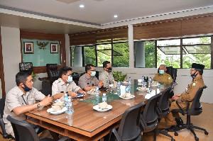 Sekda Aceh Terima Kunjungan Silaturrahmi Kepala BKN Banda Aceh