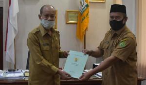 Pemkab Aceh Tamiang Hibah Tanah untuk KUA Kejuruan Muda