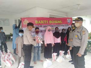 Menjelang Idhul Adha, Polresta Banda Aceh Salurkan 54 Paket Bantuan Sosial untuk Anak Yatim