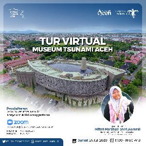 Perdana, Museum Tsunami Aceh Akan Gelar Tur Virtual