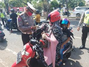 Sat Lantas Polresta Banda Aceh Lakukan Razia Operasi Patuh Seulawah Selama 14 Hari