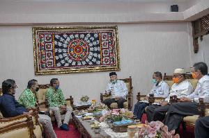 Plt Gubernur Sarankan Apdesi Tingkatkan Kemampuan Aparatur Desa