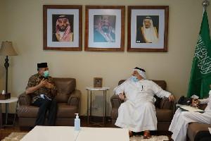 Bahas Kuota Haji, Plt Gubernur Aceh Temui Dubes Arab Saudi
