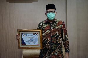 Aceh Raih Penghargaan Terbaik Pertama Pelayanan KB Serentak Sejuta Akseptor