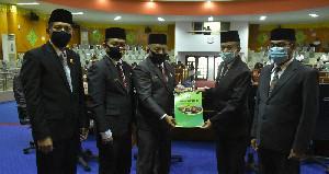 DPRK Aceh Tamiang Sepakat Terima Raqan Pertanggungjawaban APBK 2019