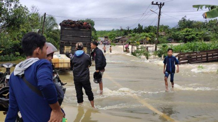 Banjir, Subulussalam- Tapaktuan Lumpuh