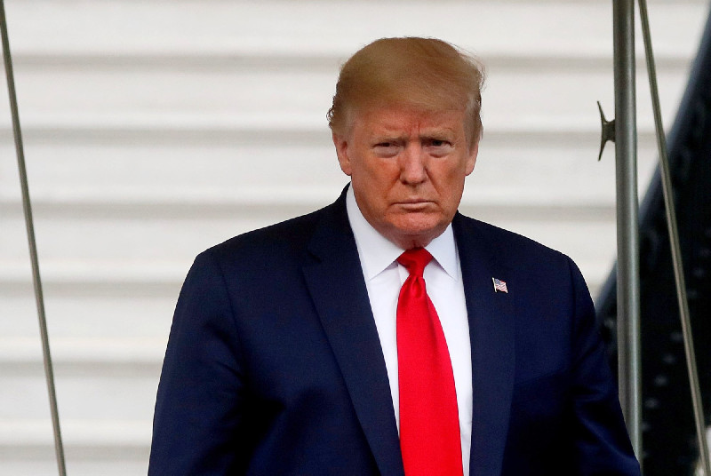 Keponakan Minta Donald Trump Mundur dari Jabatan Presiden