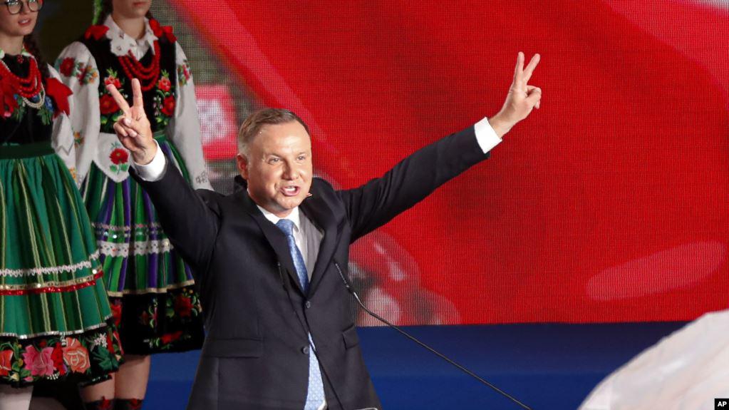 Duda Klaim Kemenangan dalam Pilpres Polandia