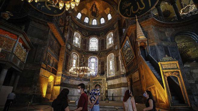 UNESCO Sesali Turki Tetapkan Hagia Sophia Jadi Mesjid, Erdogan: Hagia Tetap Terbuka untuk Umum