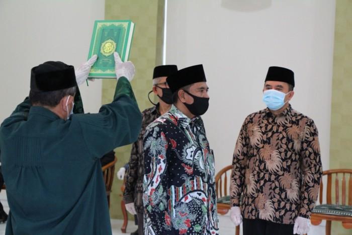 Iqbal Dilantik Jadi Kakanwil Kemenag Aceh
