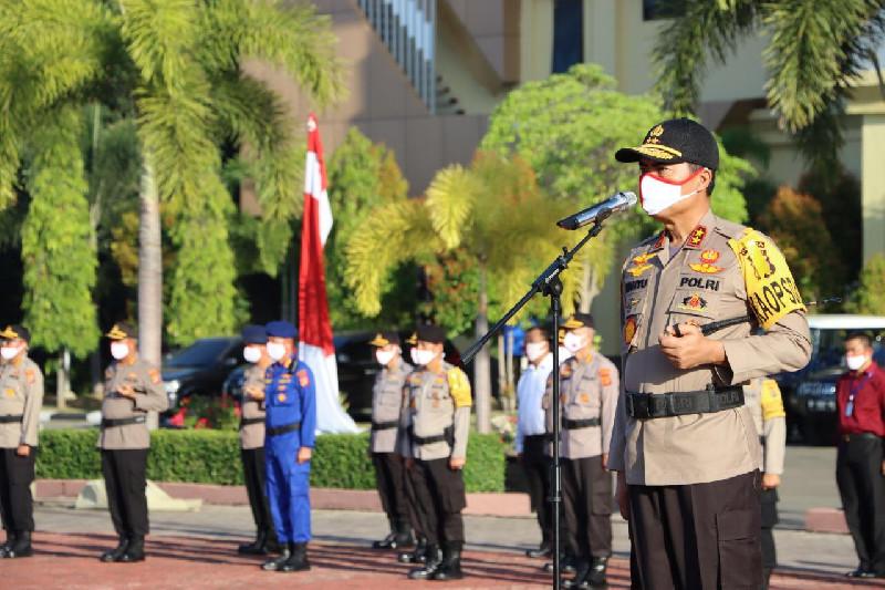 1266 Personel Polda Aceh Memperoleh Kenaikan Pangkat