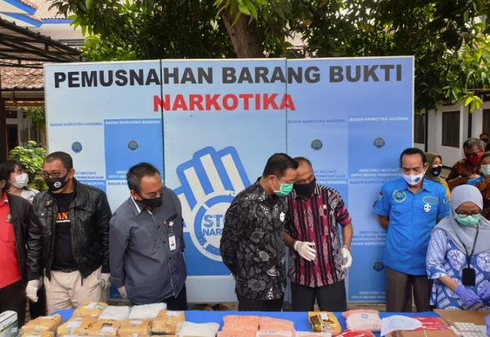BNN Temukan 86 Narkoba Jenis Baru Masuk ke Indonesia Sepanjang 2020
