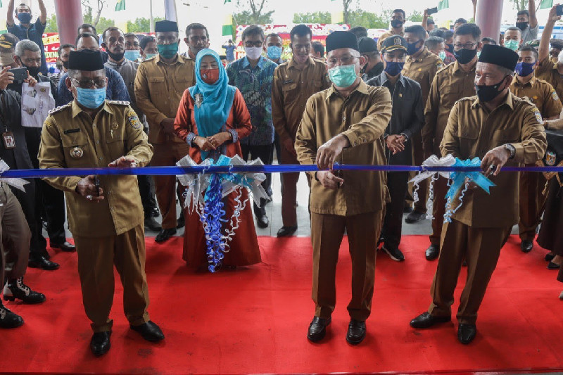 Sekda Aceh Resmikan Pasar Al Mahirah Lamdingin