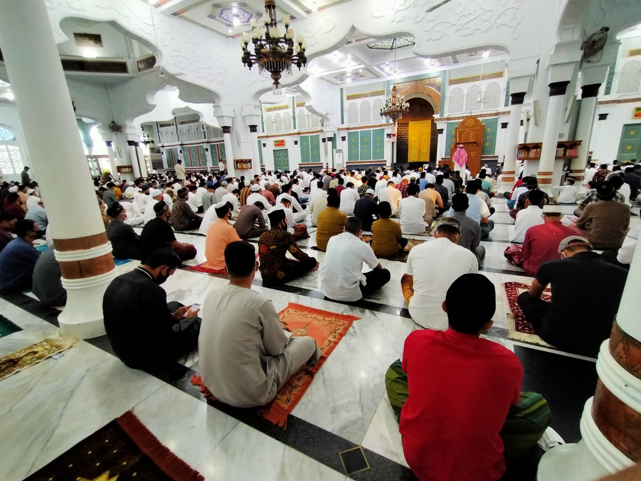 Ini Isi Khutbah Idul Adha di Masjid Raya Baiturrahman Banda Aceh