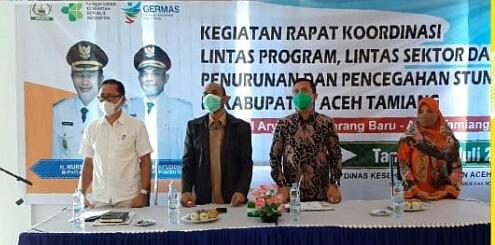 Tekan Angka Stunting, Dinkes Aceh Tamiang Gelar Rakor Lintas Sektor
