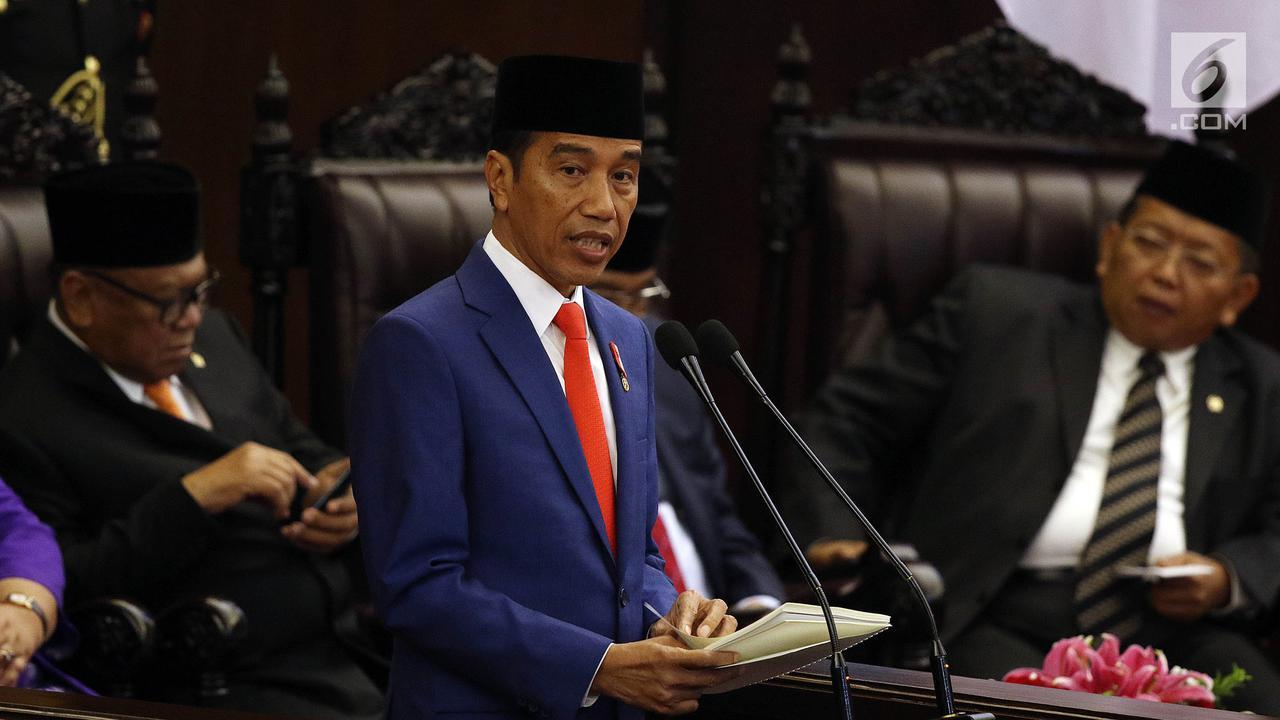 Ini Jadwal Sidang Tahunan MPR/DPR dan Pidato Kenegaraan Presiden Jokowi