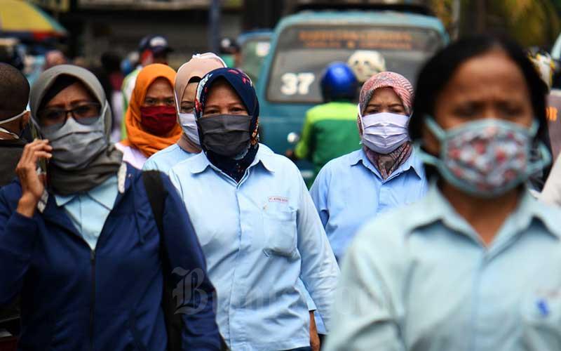 Data Pemerintah: Ada 2,1 Juta Buruh Terdampak Pandemi Covid-19