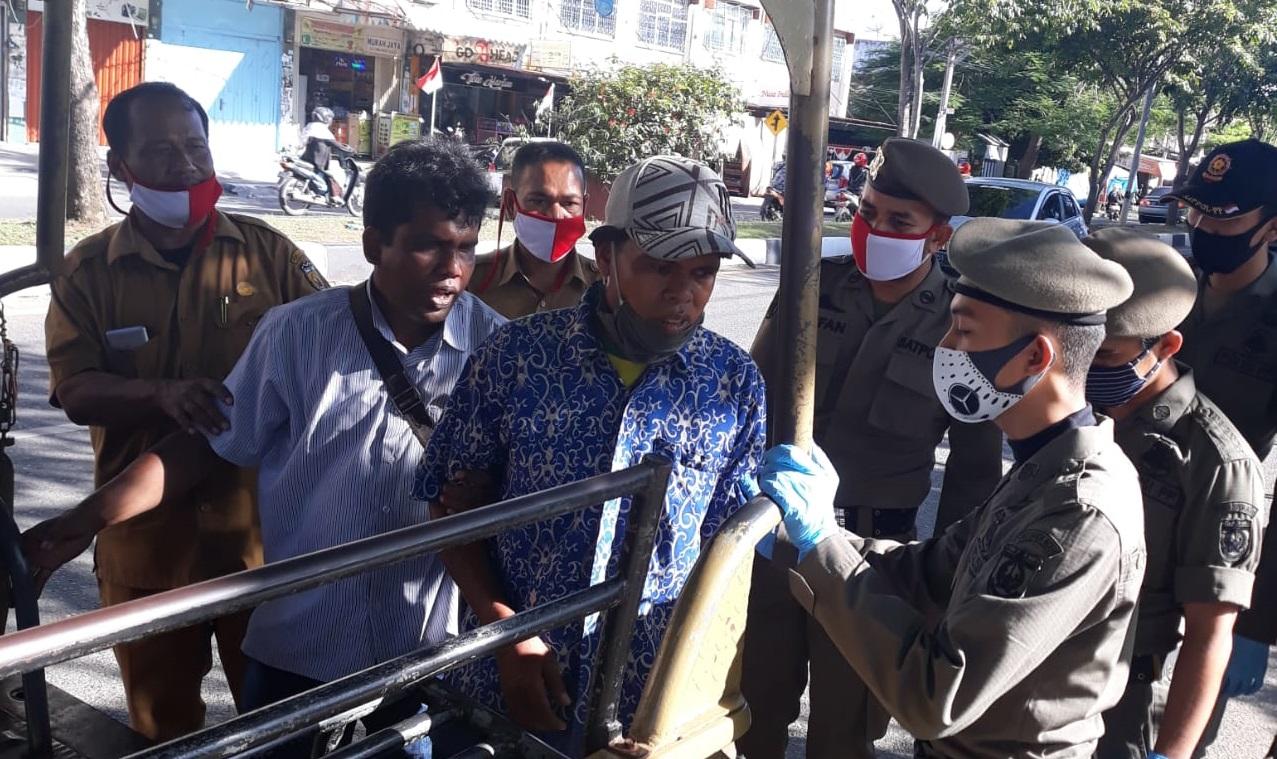 Pemko Lakukan Penertiban Gepeng Di Kota Banda Aceh