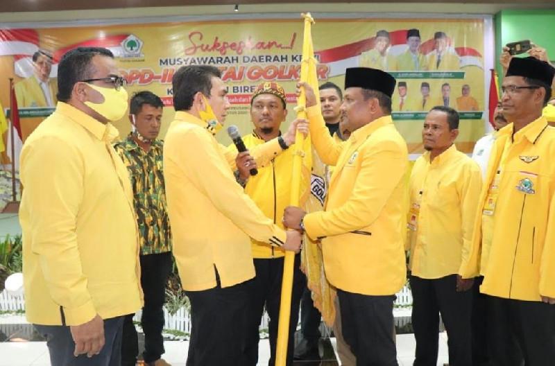 Mukhlis Pimpin DPD II Golkar Bireuen