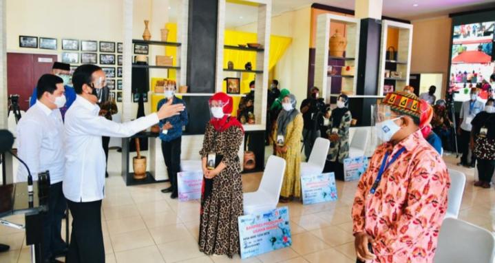 Jokowi Bantu 220 Pelaku Usaha di Aceh