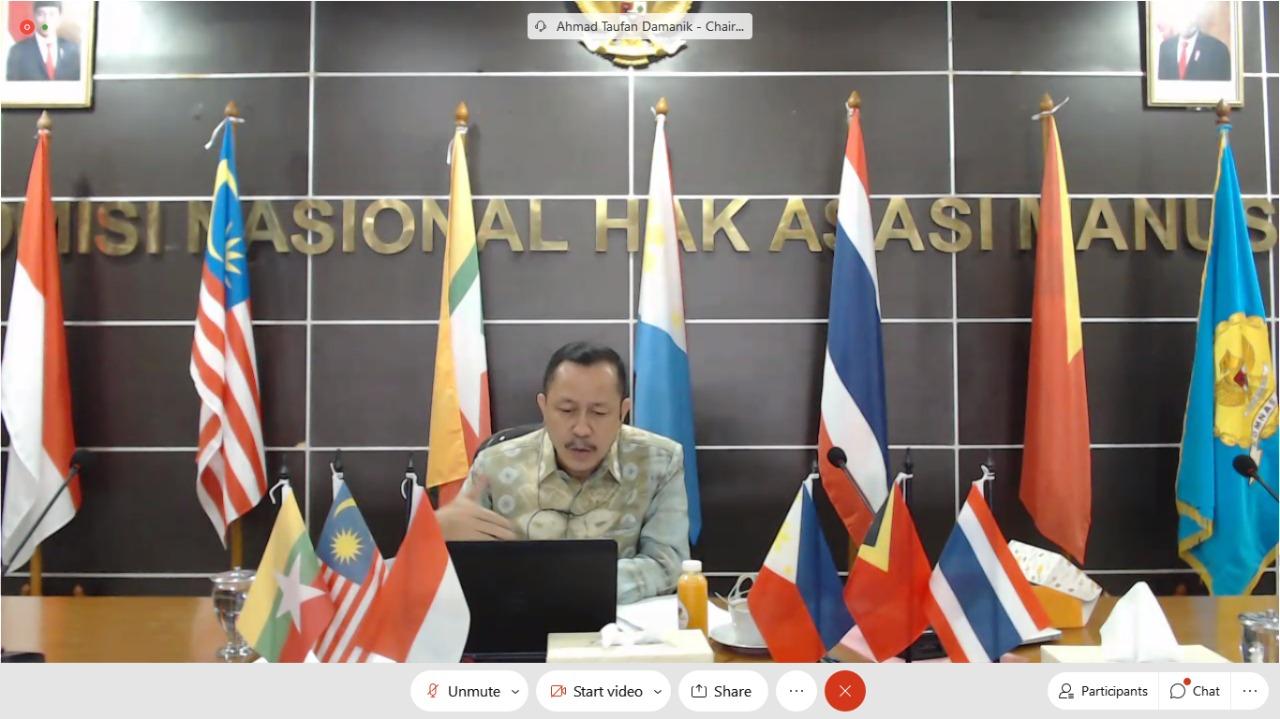 Komnas HAM Tuan Rumah TWG 2 SEANF di Asia Tenggara