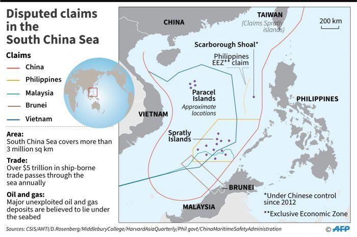 AS : Konyol Klaim Beijing Atas Laut China Selatan